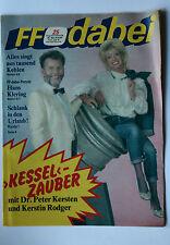 DDR Fernsehzeitschrift FF Dabei RARITÄT 25/1987 TOP !!