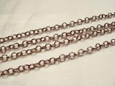 2 metres x Metal Belcher Chain - BNChain02 Bronzetone