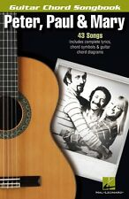 Peter Paul & Mary Sheet Music Guitar Chord Songbook Book NEW 000103013