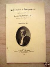 Cérémonie d'inauguration du monument Louis Guillouard, Caen 1928, éd.1929