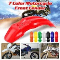 Plastic Front Wheel Fender Protector For HONDA CRF50 XR Dirt Pit Bike 7 Colors