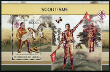 Guinea Scouting Stamps 2013 MNH Boy Scouts Butterflies Butterfly Insects 1v S/S
