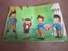 Pinocchio Puppet Doll Posed Photo Picture Story Book Vintage Old Classic