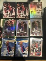 SEKOU DOUMBOUYA RC LOT (24 CARDS) PRIZM OPTIC CHRONICLES MOSAIC