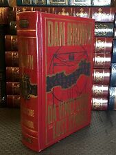 THE DAVINCI CODE and THE LOST SYMBOL by DAN BROWN- Leatherbound !NEW & SEALED!