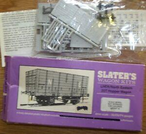 Model Railway LNER North Eastern 20-ton Hopper Wagon Slater's Kit OO Gauge 4mm
