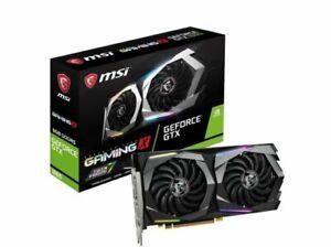 MSI GeForce GTX 1660 GAMING X 6GB GDDR5 Graphics Card - Brand New in Box