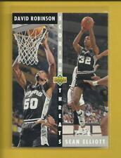 David Robinson 1992-93 Upper Deck Scoring Threats Card # 505 Spurs Basketball