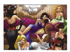 2016 Ladies Of Zenescope Promo Card Philly Non Sport Show