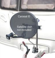 SATELLITE DISH MOUNTING KIT CARAVAN JOCKEY WHEEL BOAT TRAILER AERIAL MOUNT