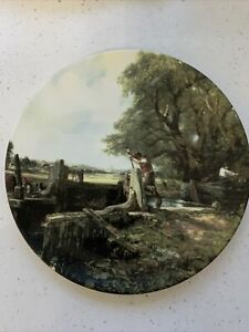 Royal Doulton Plate Constable Country The Artists Favourites The Lock