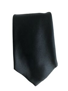 Anderson&Sheppards Mens Tie 100% Silk Dark Blue Colour