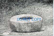 Edward Gorey Dogear Wryde Papier Mache Doughnut Made By D. Guest 1978 Postcard