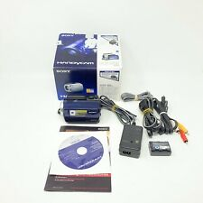 Sony DCR-SR47 60 GB Blue Camcorder Complete With Box Tested