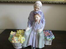 Royal Doulton England Porcelain Figurine Hn 2031 Granny's Heritage
