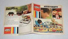 LEGO SYSTEM CATALOGO Assortimento Anni 60 Catalog Katalog Catalogue 1967 1968