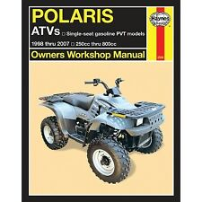 Haynes - 2508 - Repair Manual Polaris Sportsman 500 RSE Remington Special Ed. 4x