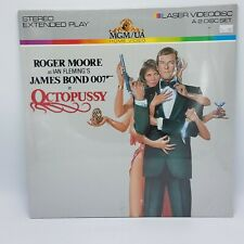 James Bond: OCTOPUSSY Laser Videodisc 2-Disc Extended Play SEALED
