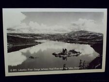 Hood Dalles Oregon Columbia River Gorge RPPC View Real Photo Postcard