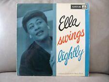 LP 1st PRESS ELLA FITZGERALD - ELLA SWINGS LIGHTLY HMV CLP 1267
