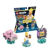 LEGO HOMER SIMPSON minifigure CAR & TV 71202 *NO BOX only PIECES*
