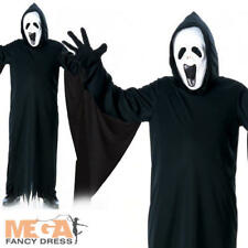 Fancy Dress Howling Ghost Costume - Child UK Large Rubies