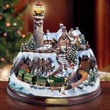 The Thomas Kinkade Christmas Seaside Village Holiday