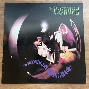 The Cramps - Psychedelic Jungle - Vinyl LP ILP009 1981 Holland Press