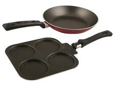 Nirlep Fry Pan 200 mm & Multi Snack Maker Combo, with 1 Year Guarantee