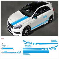 4XPcs//Sheet WRC World Racing Development Creative Car Door Handle DecalsWCP
