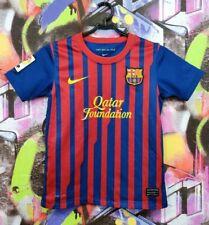 Barcelona Barca Spain Football Shirt Soccer Jersey Nike Boys Youth 8-10 Years