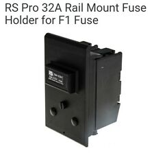 RS Pro 32A Rail Mount Fuse Holder for F1 Fuse
