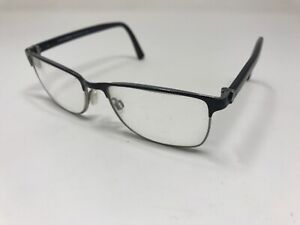 Dolce Gabbana Eyeglasses Frame DG 1248 064 53-16-140 Black Silver BT45