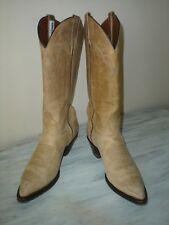 El Dorado Thieves Market Womens Handmade Buckskin Country Western Boots 6.5M EUC