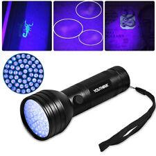 US 51 UV LED Scorpion Detector Hunter Finder Ultra Violet Blacklight Flashlight