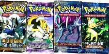 ① 4 BOOSTERS de CARTES POKEMON Neuf Aucun double en FRANCAIS (Lot N° AAT)-