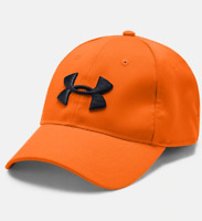 UNDER ARMOUR Blaze Orange Hat for Hunting Shooting Gun Club Nice Embroidery! NWT
