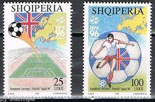 1996 Albanië 2591-2592 EK voetbal - EC soccer
