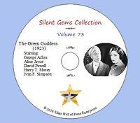"DVD ""The Green Goddess"" (1923) George Arliss, Alice Joyce, Classic Silent Drama"