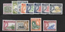 More details for pitcairn islands sg18/28 1957 definitive set mnh