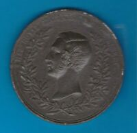 1851 GREAT EXHIBITION WHITE METAL MEDAL BY OTTLEY IN GOOD FINE OR BETTER.
