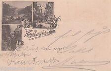 Thusis AK 1897 Mehrbild Vorläufer Graubünden Schweiz Suisse Svizzera 1610431