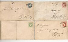 ( 4 ) Really old covers( They look European)Swiss? not sure, found in an envelo