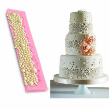 Perlen Edelstein Juwelen Form Silikon Mould Torten Deko, Hochzeitstorte Fondant