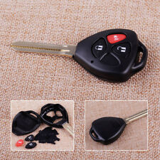 3 Buttons Remote Key Fob Shell Case Replacement Fit For Toyota RAV4 Yaris Scion