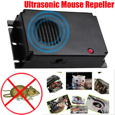 Home/Car Ultrasonic Mouse Pest Repeller Mice Rat Battery Powered Pest Black