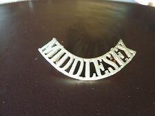 Shoulder Title - Middlesex Regiment - WW1 / WW2 Period