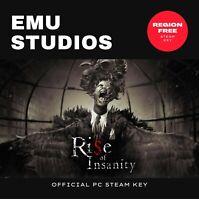 Rise of Insanity (PC) Steam Key Region Free Horror
