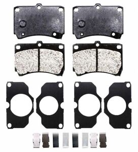 Disc Brake Pad Set-System Xl Semi-metallic - Front Mighty XL466M FREE SIPPING!!