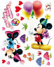 Cute Mickey Minnie Home Room Wall Mural Window Decor Stickers decals removable